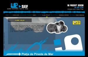 Summer Electronic Festival 08 Pineda de Mar